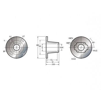 Vertical Pump/Motor Mounts