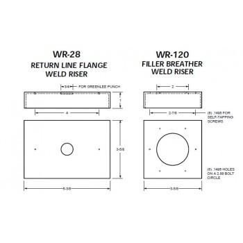 Weld Risers