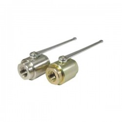 Hydraulic Ball Valves - 2-Way Round Body