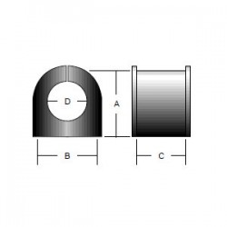 Econo-Isolator Clamping System - Bushing