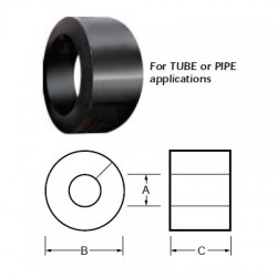 Split Bushing For Pipe Applications