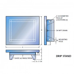 Drip Pans and Stands