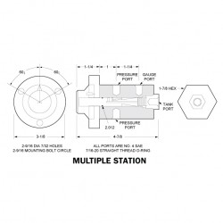 Gauge Isolator Valves - Multiple Station