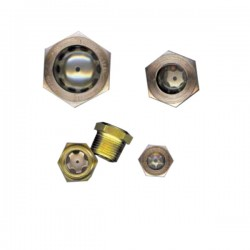 Oil Level Sight Plugs